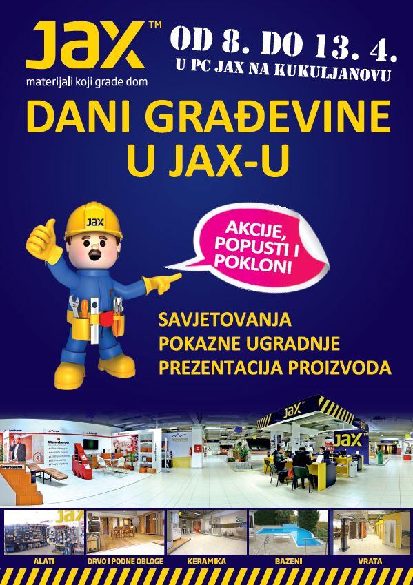 Dani građevine JAX
