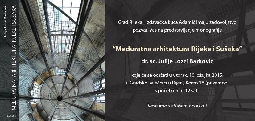 pozivnica arhitektura