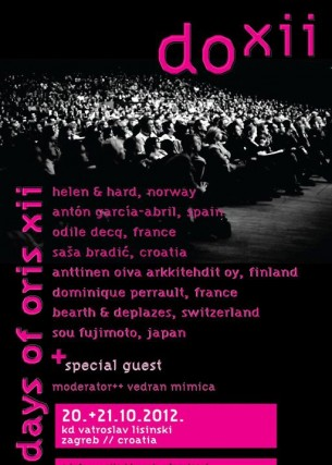 U Zagrebu se 20. i 21. listopada 2012. po 12. puta održava ciklus predavanja Dani Orisa...