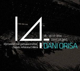 Dani Orisa 14 u Zagrebu od 18. do 19. 10. 2014. u dvorani Lisinski !